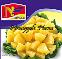 Pineapples-pieces