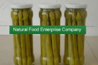 green asparagus in glass jars|Canned Vegetables|